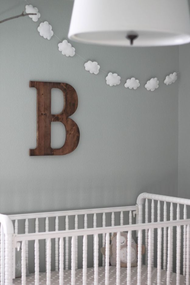 15 Adorable DIY Nursery Decor Crafts Youre Going To Love