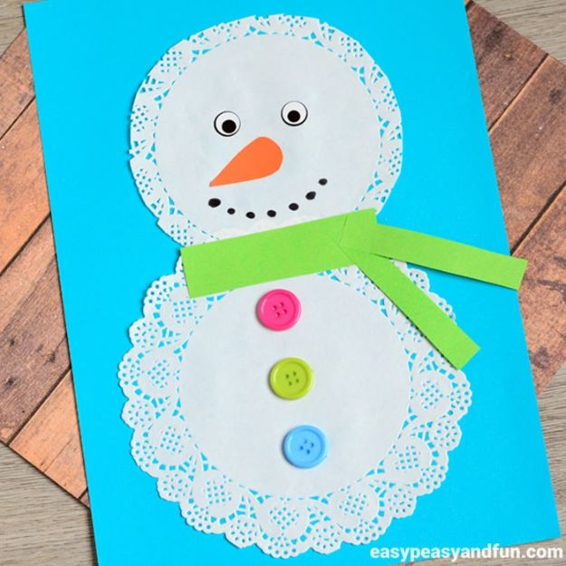 15 Amazingly Simple Yet Beautiful Winter Crafts Your Kids Would Love To Make