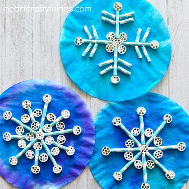 15 amazingly simple yet beautiful winter crafts your kids