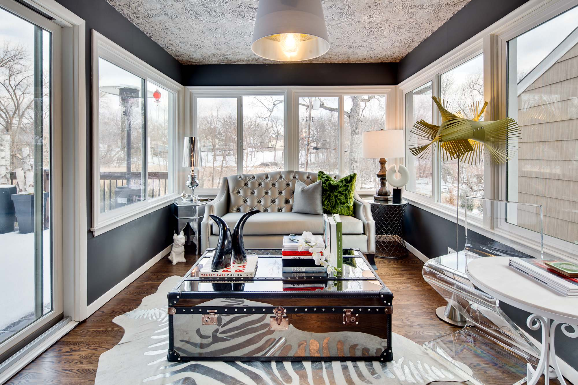 15 Light & Bright Eclectic Sunroom Designs You'll Fall In Love With