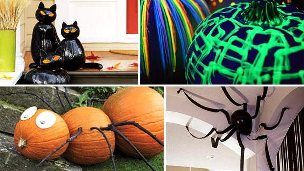 15 Mysterious DIY Halloween Decor Ideas To Do Over The Weekeend