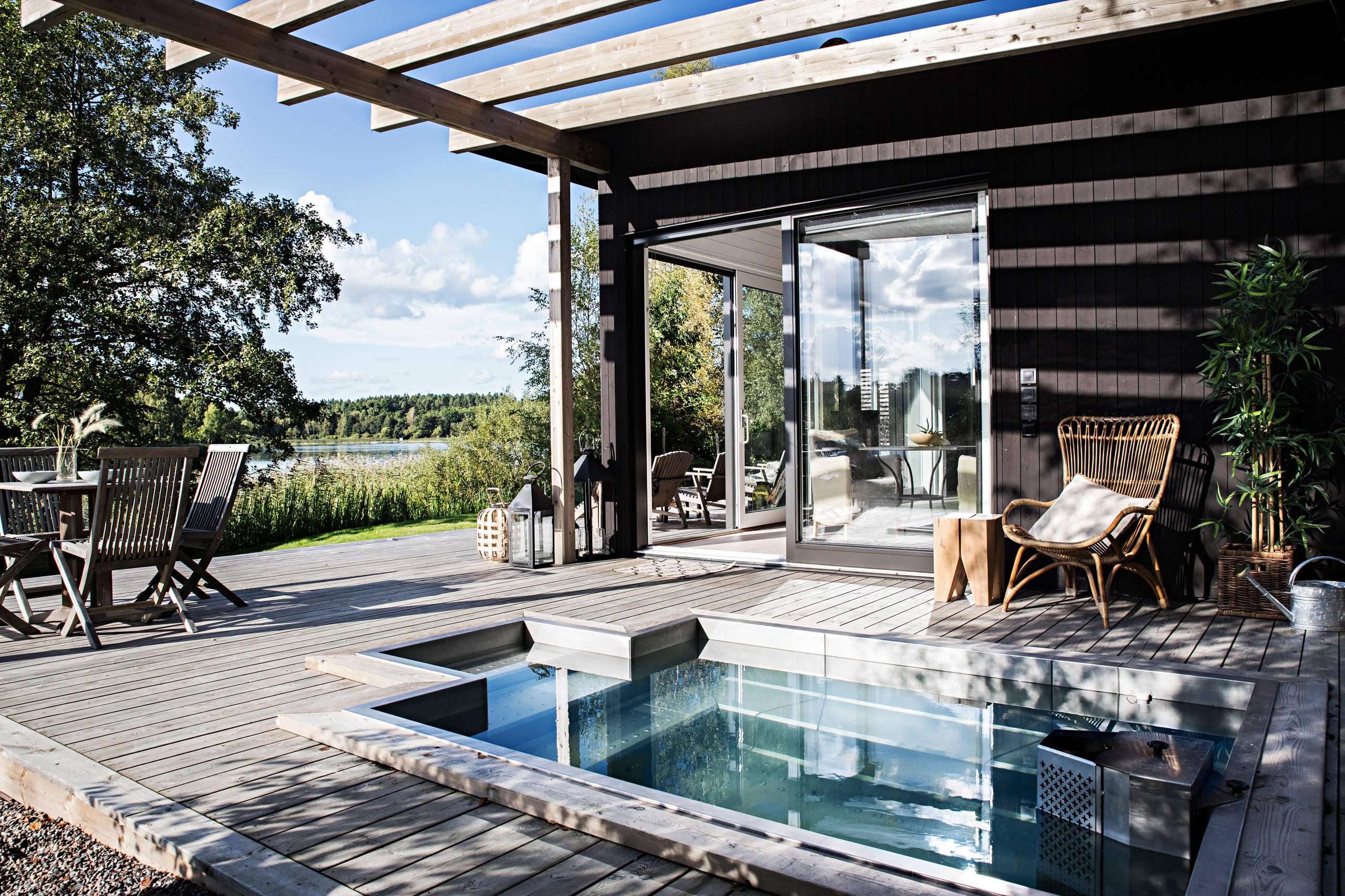 15 Stunning Scandinavian Pool Designs That You'll Want To Have In Your Backyard