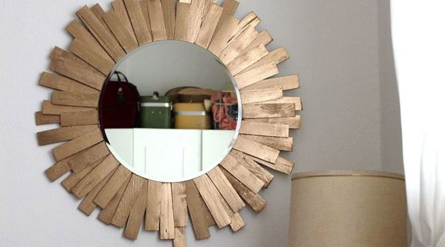 16 Really Cool DIY Mirrors That You Can Do For Free