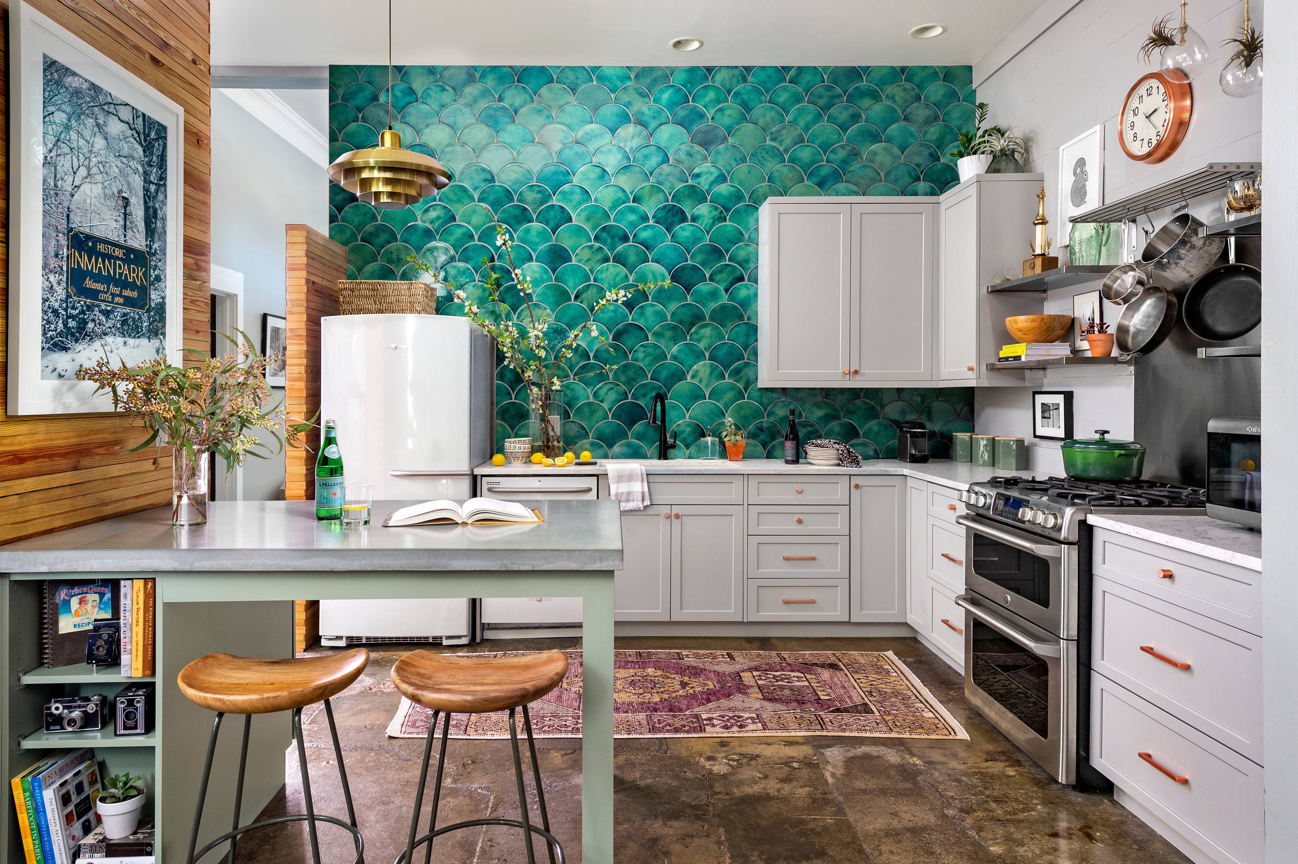 16 Beautiful Eclectic Kitchen Interior Designs That Will ...