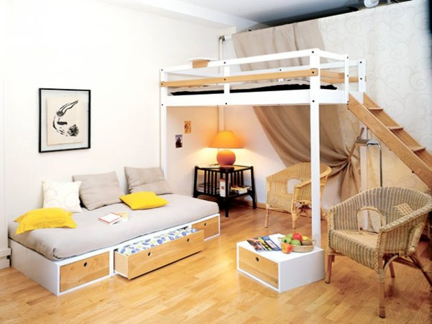 15 Ingenious Small Space Designs That Everyone Should See