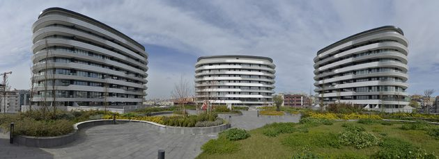 A Unique Mixed-Use Building Complex: Real Merter