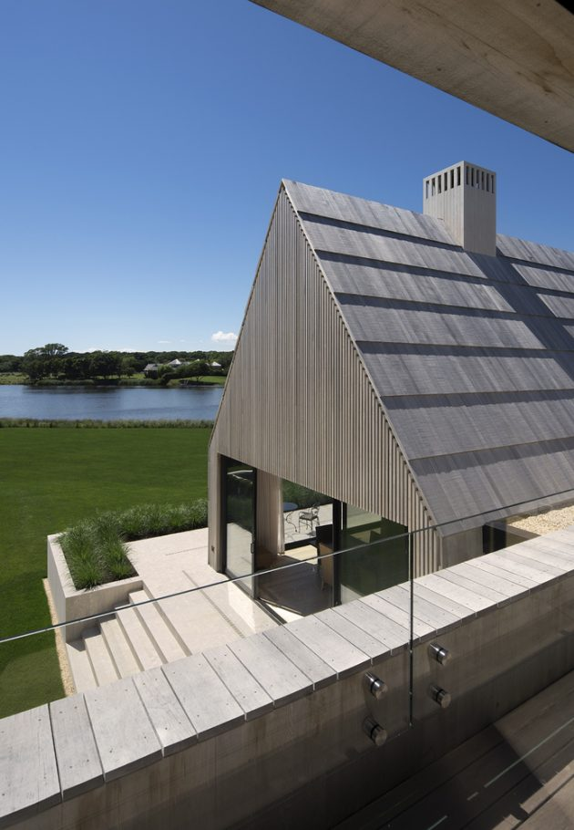 Georgica Cove Residence by Bates Masi Architects in East Hampton, New York
