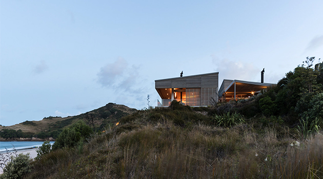 Hahei House by Studio2 Architects in New Zealand