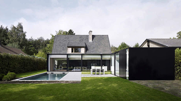 House DS by GRAUX & BAEYENS Architecten in Destelbergen, Belgium