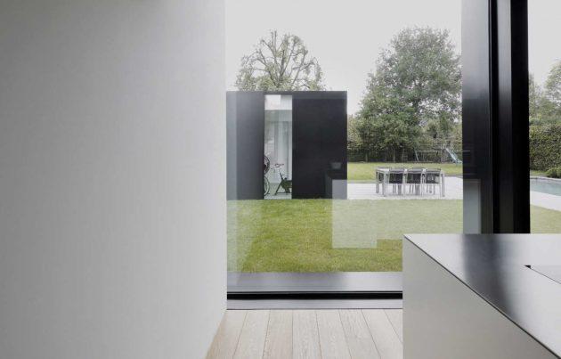 House DS by GRAUX & BAEYENS Architecten in Destelbergen, Belgium