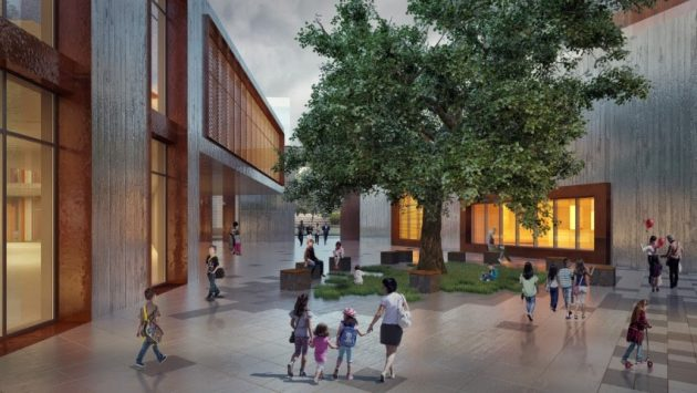 Meeting of Traditional and Modern Architecture with Studio Vertebra Signature: Diyarbakir Public and Childrens Library