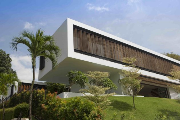 See Through House by Wallflower Architecture + Design in Bukit Timah, Singapore