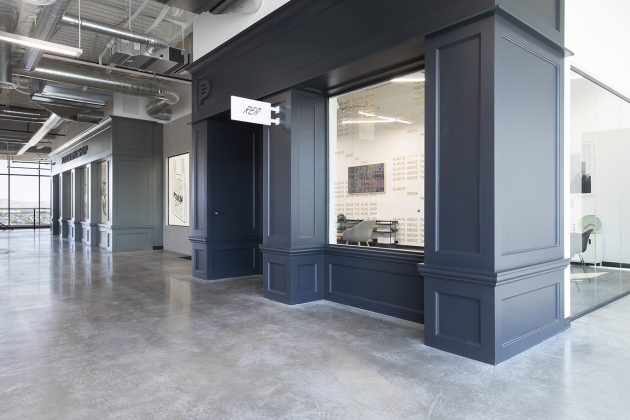Sneakerhead vibe + hot tech startup = Podium's new office
