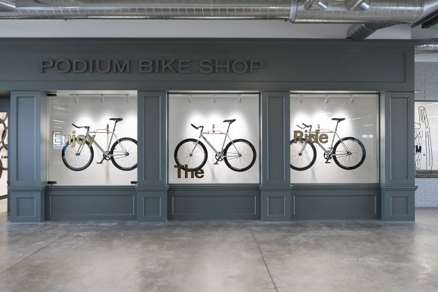 Sneakerhead vibe + hot tech startup = Podium's new office