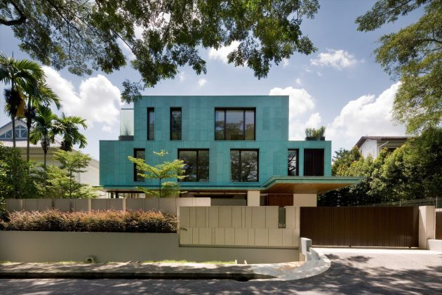 The Green House by K2LD Architects in Singapore