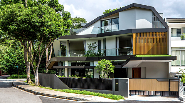 Trevorse House by A D Lab in Singapore