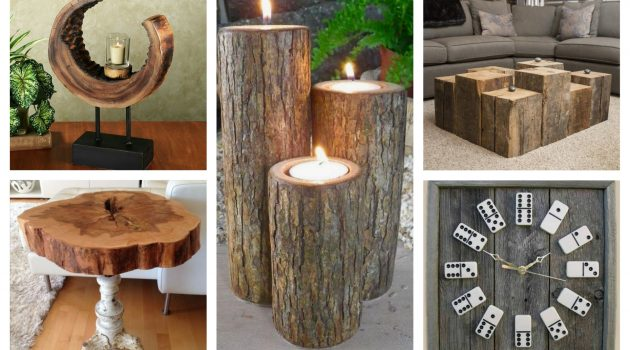 17 Excellent DIY Wood Decorations That You Can Do For Free