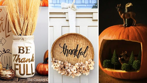 15 Beautiful DIY Thanksgiving Decor That Will Impress Your Guests