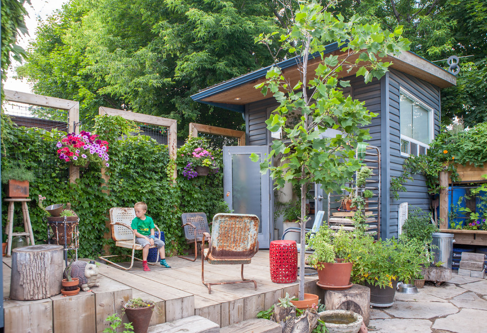 15 Charming Eclectic Deck Designs For The Outdoor Lovers