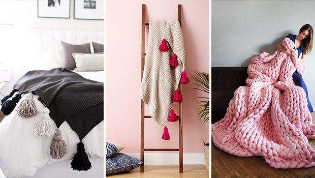 15 Cozy DIY Throw Blankets That Will Keep You Snug