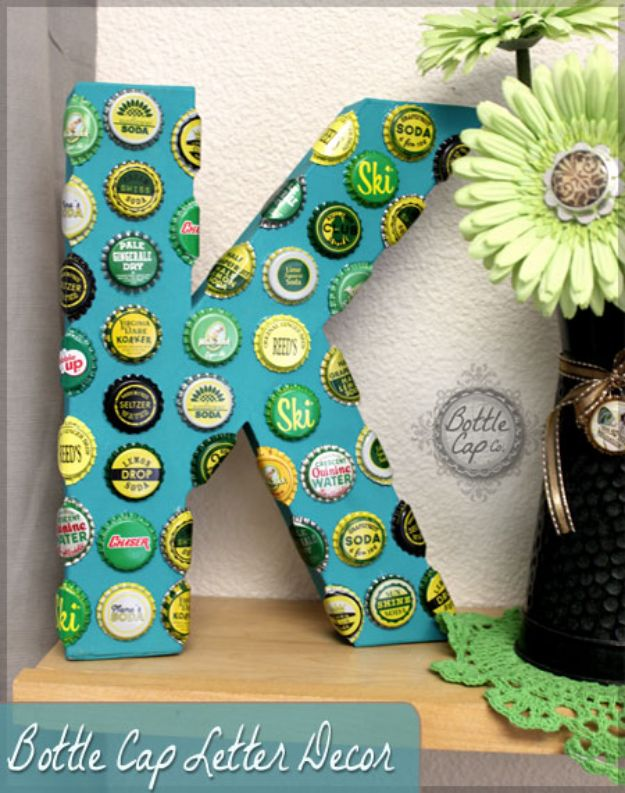 15 Creative DIY Bottle Cap Crafts That Will Add A Little Charm To Your Home