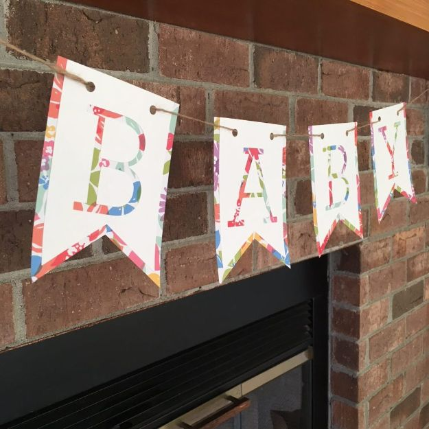 15 Lovely DIY Decor Ideas For The Baby Shower