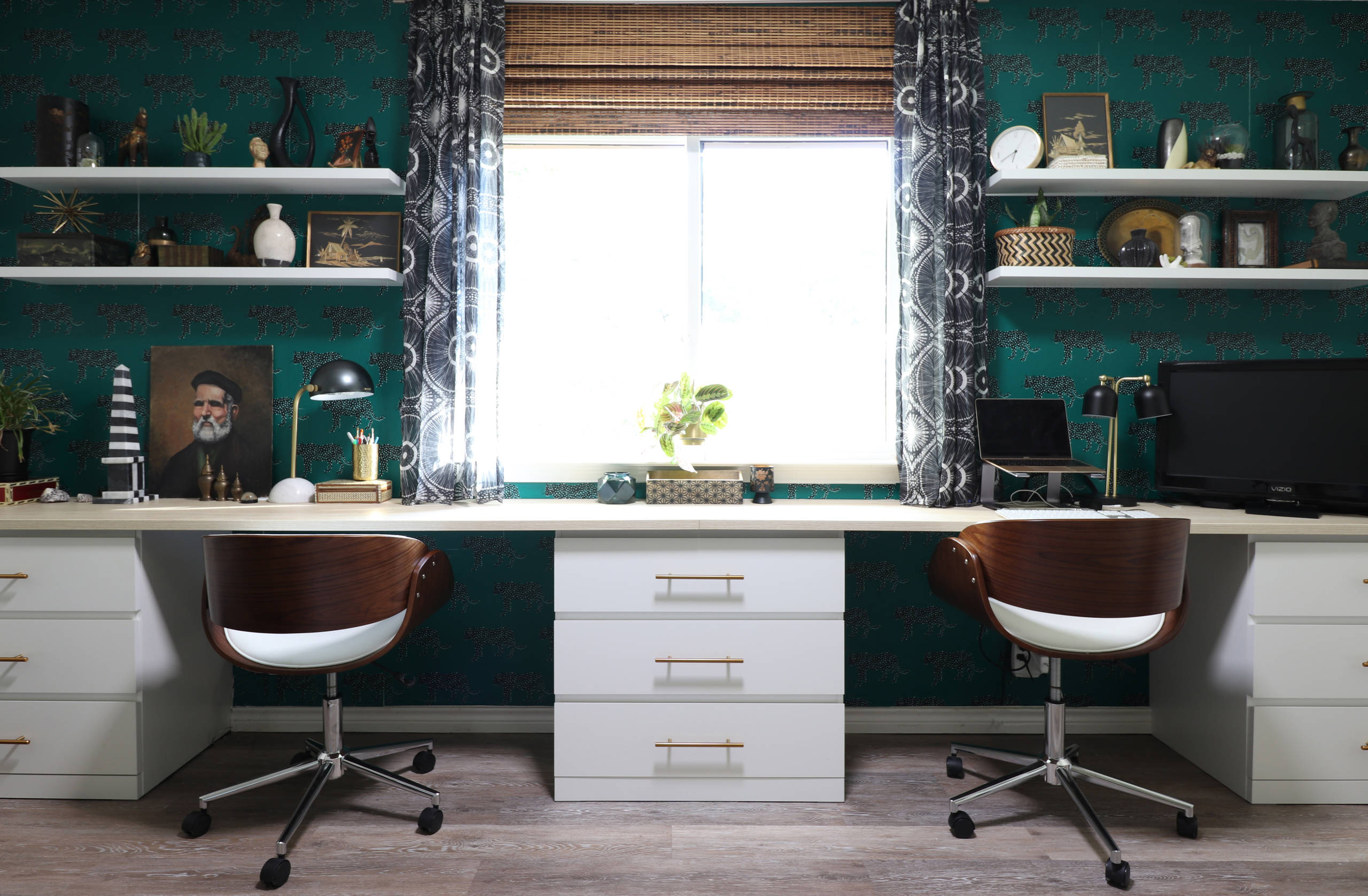 15 Sublime Eclectic Home Office Designs To Work In Comfort