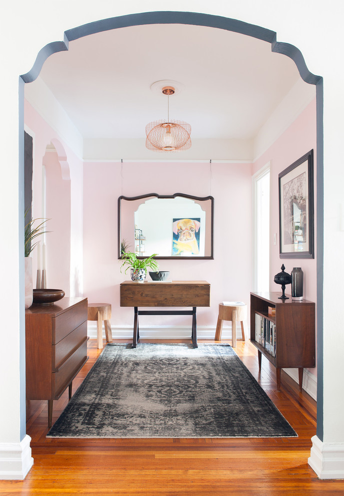 16 Expressive Eclectic Entry Hall Designs You'll Fall For