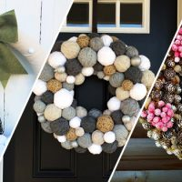 16 Fancy Handmade Winter Wreath Desgins To Welcome The Season