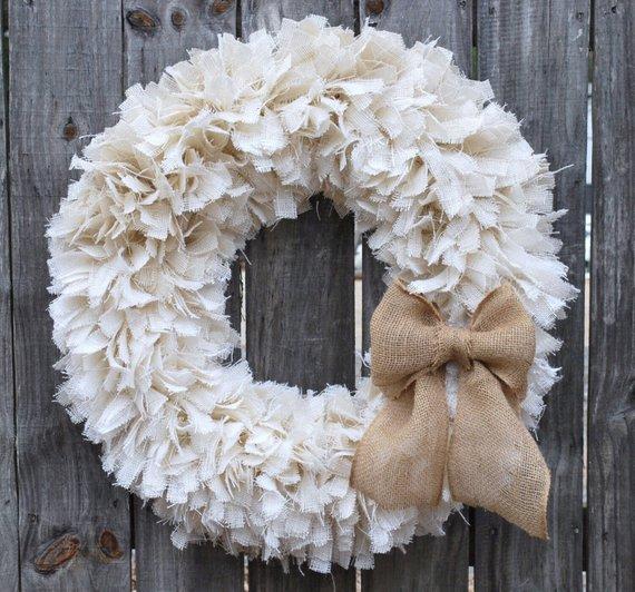 16 Fancy Handmade Winter Wreath Desgins To Welcome The Season