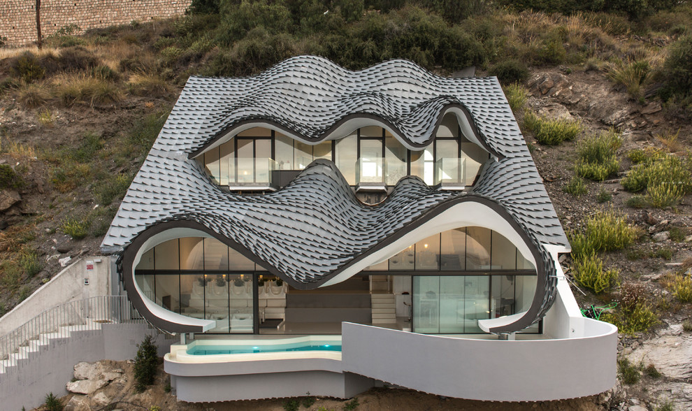 16 Outstanding Eclectic Home Exterior Designs That Will Bedazzle You