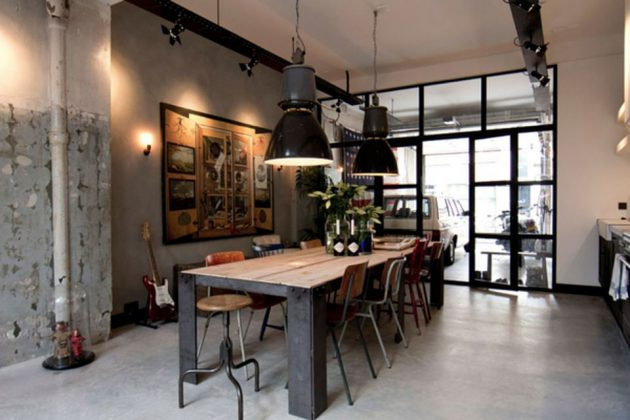 17 Attractive Industrial Interior Design That Are More Than Inviting
