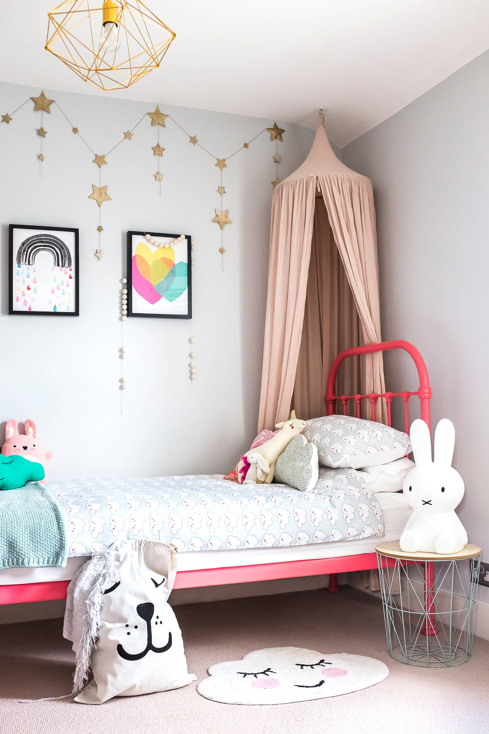 Baby Girl Room: 17 Delightful Eclectic Kids' Room Designs With A Cozy Look