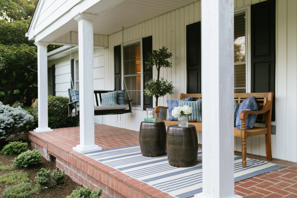 20 Fabulous Eclectic Porch Designs You Might Like