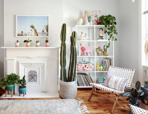 10 creative ways to energize your interior with indoor plants - Indoor plant decor ideas ...