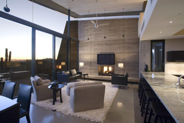 Desert Wing Residence by Kendle Design in Scottsdale, Arizona