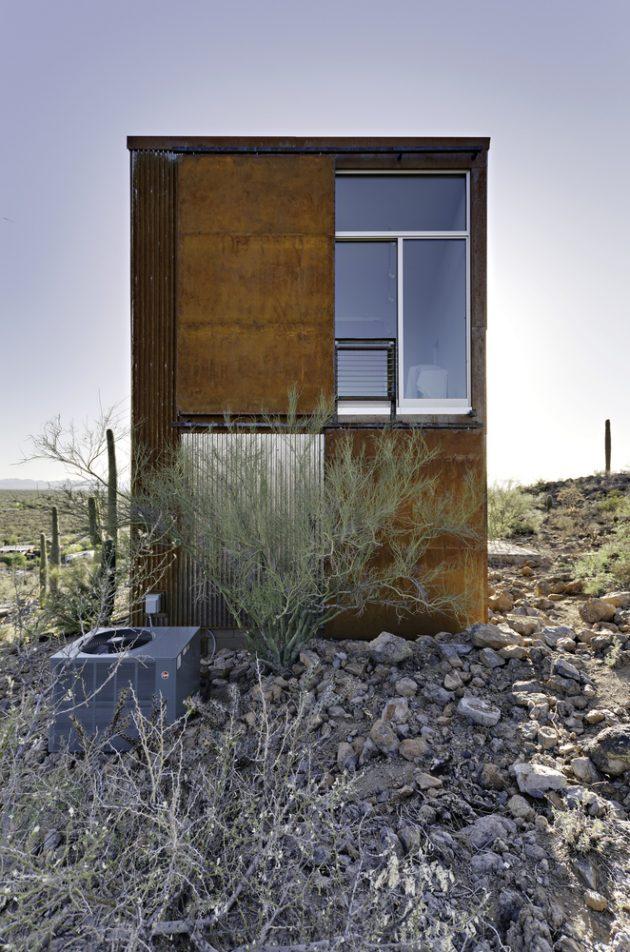 Diamond Head Mountain House by Rob Paulus Architects in Tucson, Arizona