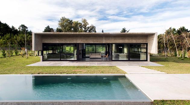 MACH House by Luciano Kruk in Maschwitz, Argentina