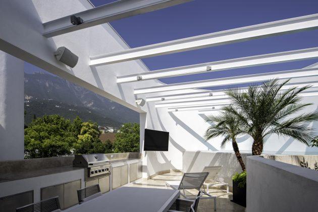 Nogal House by BGP Arquitectura in San Pedro Garza Garcia, Mexico