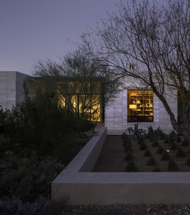 Stone Court Villa by Marwan Al Sayed Inc. in Paradise Valley, Arizona