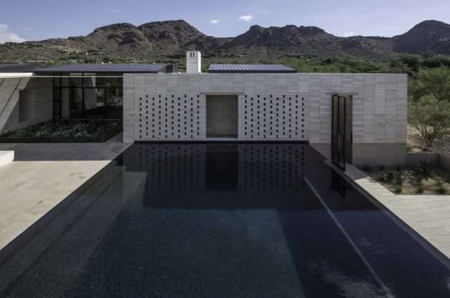 Stone Court Villa by Marwan Al Sayed Inc. in Paradise Valley, Arizona