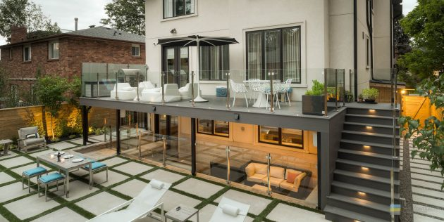 The Varghese House by M.E. Contracting in Toronto, Ontario