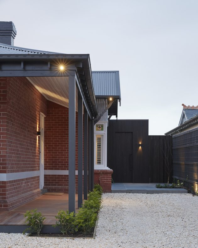 Unbricked House by Merrylees Architecture in Brighton, Melbourne