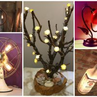 16 Really Amazing DIY Decorative Lamps That Everyone Should See
