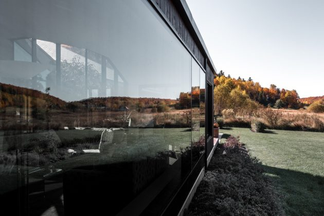 Vallée du Parc Residence by Chevalier Morales Architects in Shawinigan, Canada