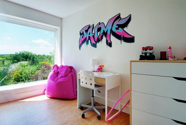 Graffiti In The Interior   17 Astonishing Ideas For Your Inspiration
