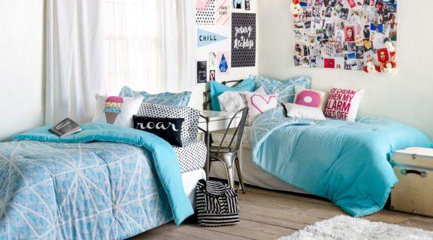 Few Simple Steps to Comfy and Cozy Dorm Room Design
