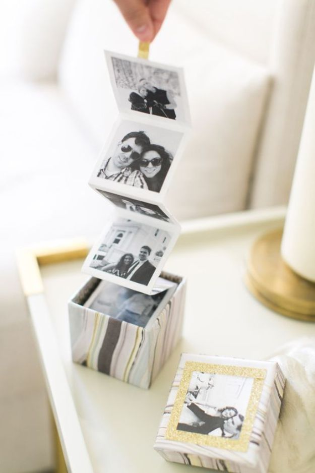 15 Adorable DIY Photo Album Designs For All Of Your Holiday Photos