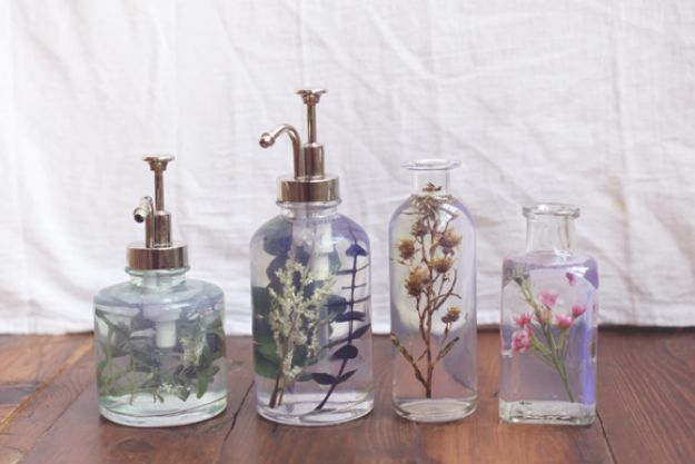 15 Awesome DIY Soap Dispenser Crafts Youd Love To Make