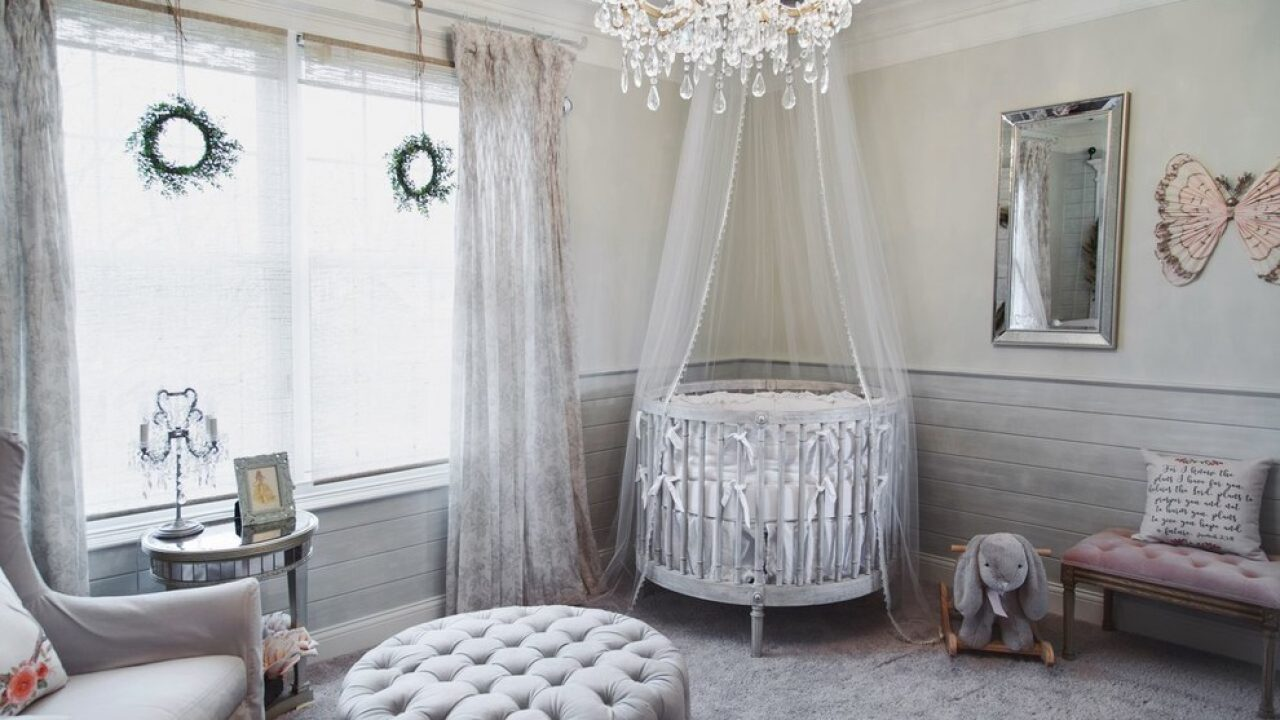 15 Fantastic Shabby Chic Nursery Designs For The Newest